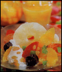 Салат с сухофруктами
