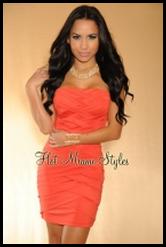 Стильная женская одежда, коктельное платье