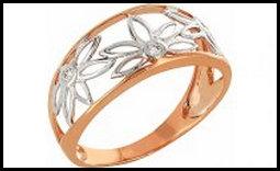 Ювелирное кольцо с бриллиантом