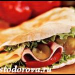 Сэндвич в пите