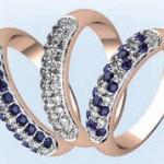 Лучшие друзья девушек- кольца с бриллиантами