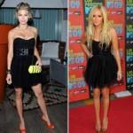 C чем носить черное платье