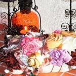 Как сделать розы из лент